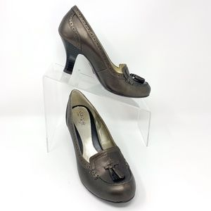 Euro Soft by Sofft Metallic Bronze Size 7 NEW